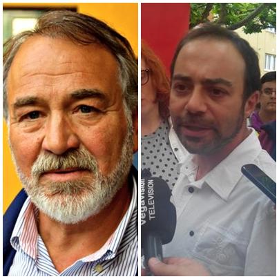 Rufino Sasián (Izquierda) e Iván Martínez (derecha)