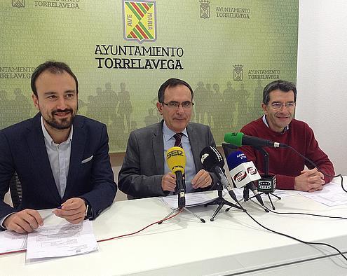 Javier López Estrada, José Manuel Cruz Viaero y Pedro Pérez Noriega.