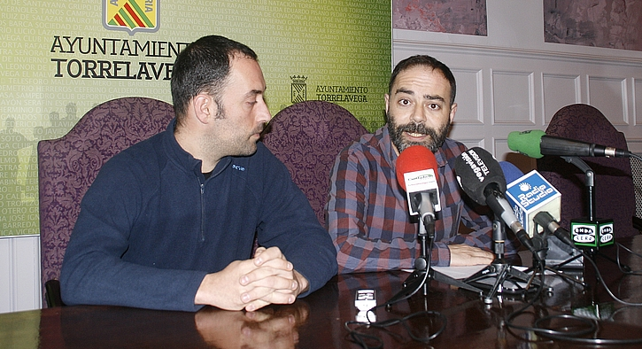 Alejandro Pérez e Iván Martínez (ACPT), 13 de febrero de 2017 (C) ESTORRELAVEGA