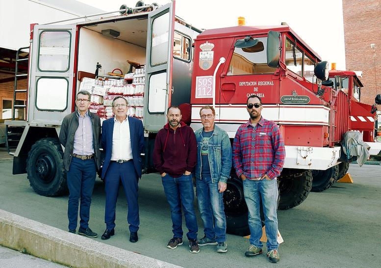 Torrelavega envía dos camiones y más de 4.000 kilos de arroz al Sáhara