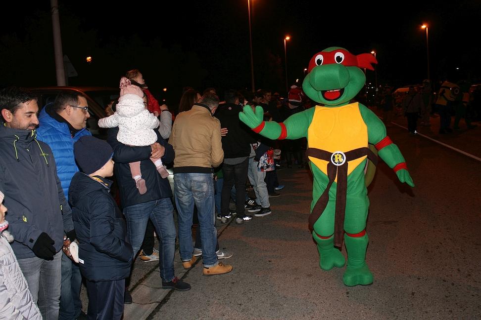Cabalgata de Reyes, Torrelavega 5 de enero de 2020