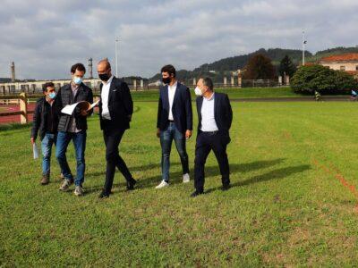 Comienzan las obras del módulo cubierto de atletismo situado en el complejo deportivo Óscar Freire