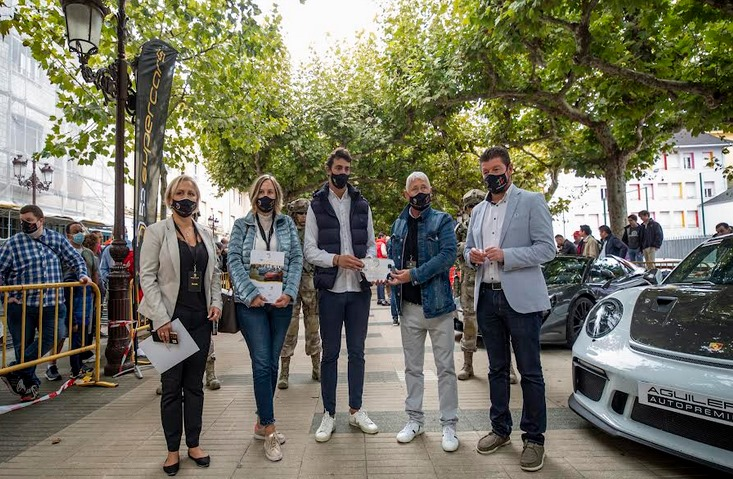 Torrelavega se llenó de coches espectaculares / Foto: Enrique Gutiérrez Aragón