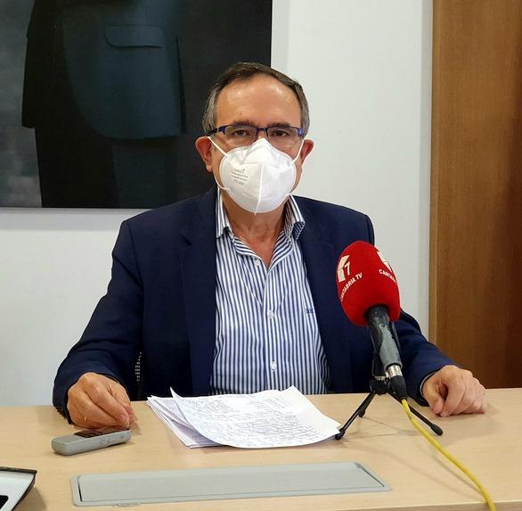 José Manuel Cruz Viadero - Comienza en Tanos la renovación del parque de alumbrado público exterior de Torrelavega