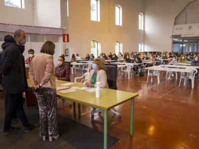 Torrelavega acoge por primera vez pruebas de la OEP de Administración General del Gobierno de Cantabria